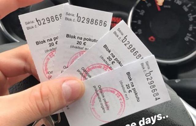 Покарали фраєра: Словацька поліція оштрафувала водія за фото у Instagram(ФОТОФАКТ)